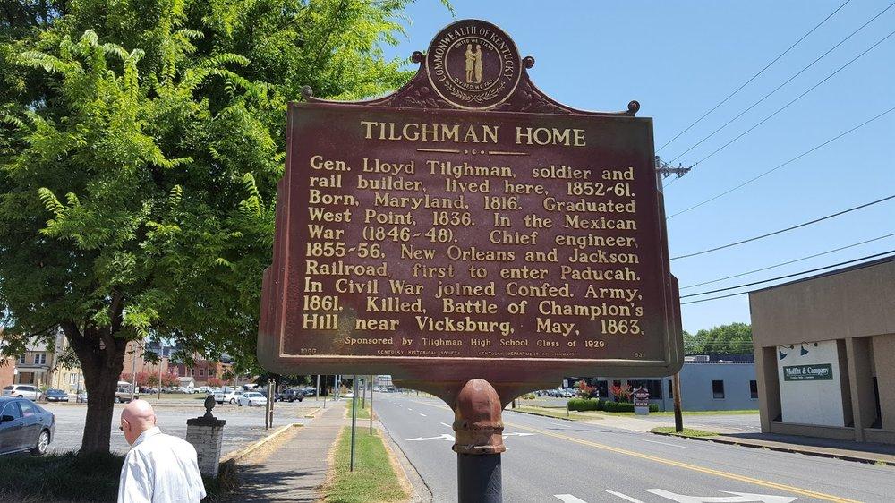 Lloyd Tilghman House & Civil War Museum: 631 Kentucky Ave, Paducah, KY