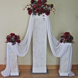 Wedding pillars and petals 19 photos party equipment rentals photo of wedding pillars and petals new lenox il united states solutioingenieria Images