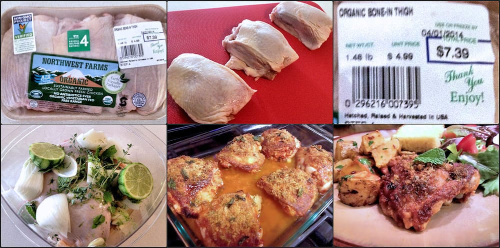 Northwest Farms Organic Chicken Thighs 499 Per Lb From Whole