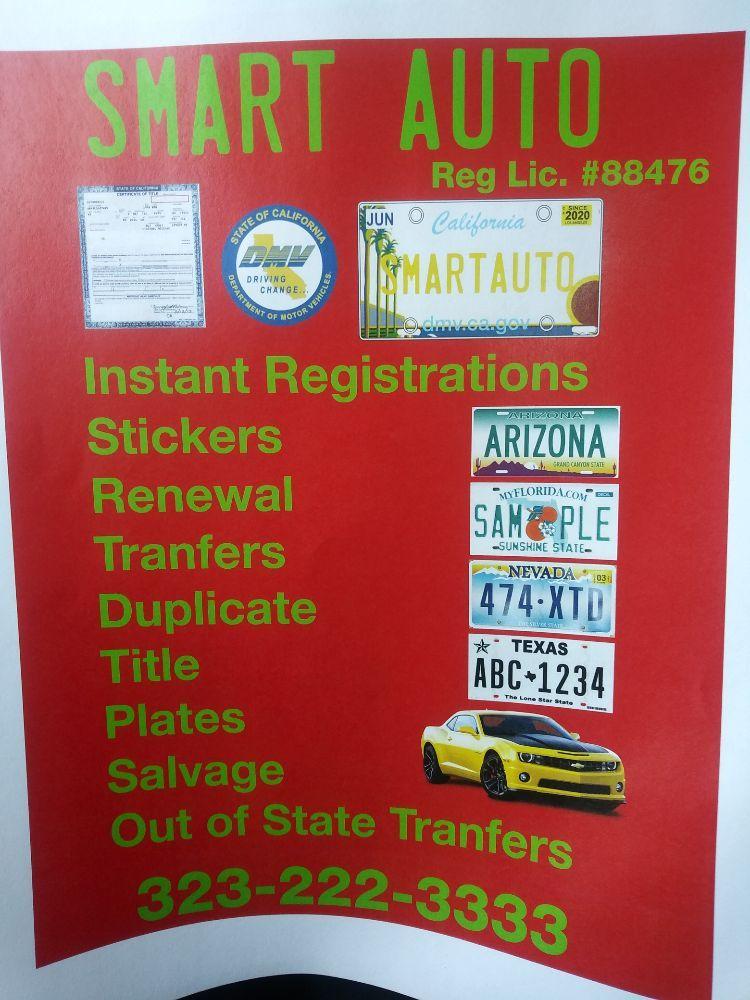 Smart Auto Registration Services: 726 S Atlantic Blvd, Los Angeles, CA