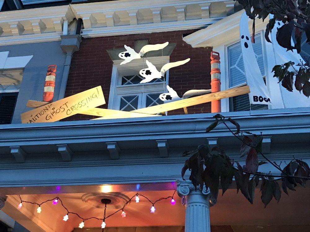 Halloween on Hanover Avenue