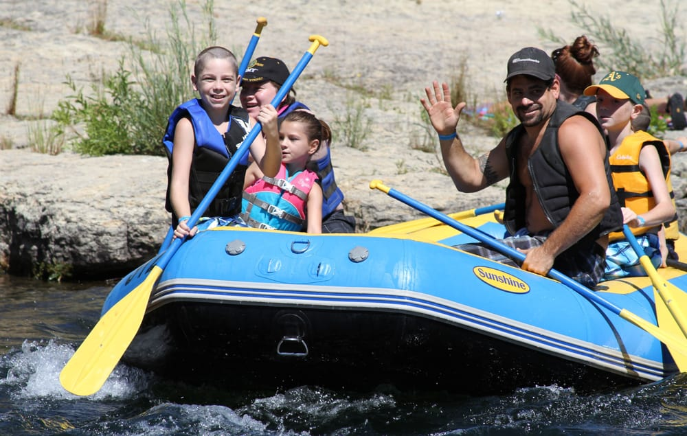 Sunshine Rafting Adventures: 18000 Covered Bridge Rd, Knights Ferry, CA