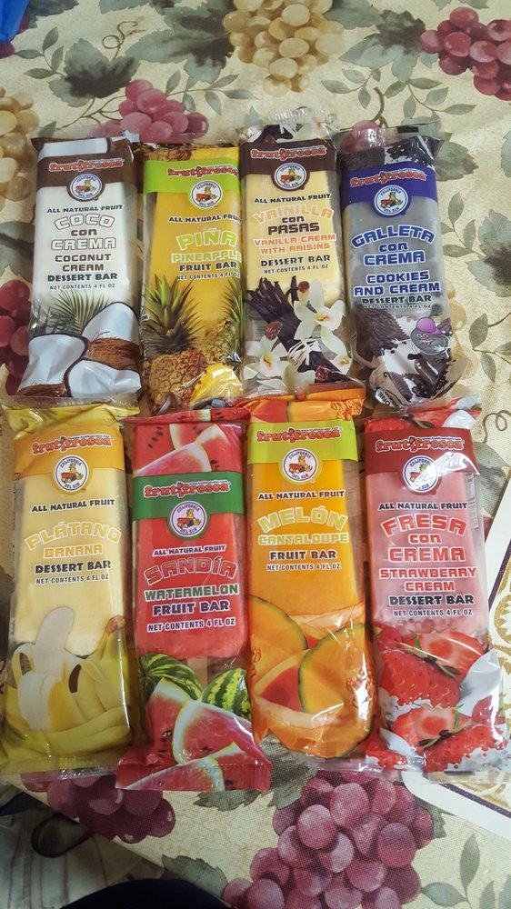 Delicious Natural Paletas Of All Flavors Yelp