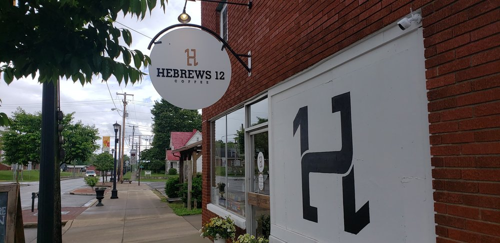 HeBrews 12 Coffee: 110 S Main St, Morgantown, KY