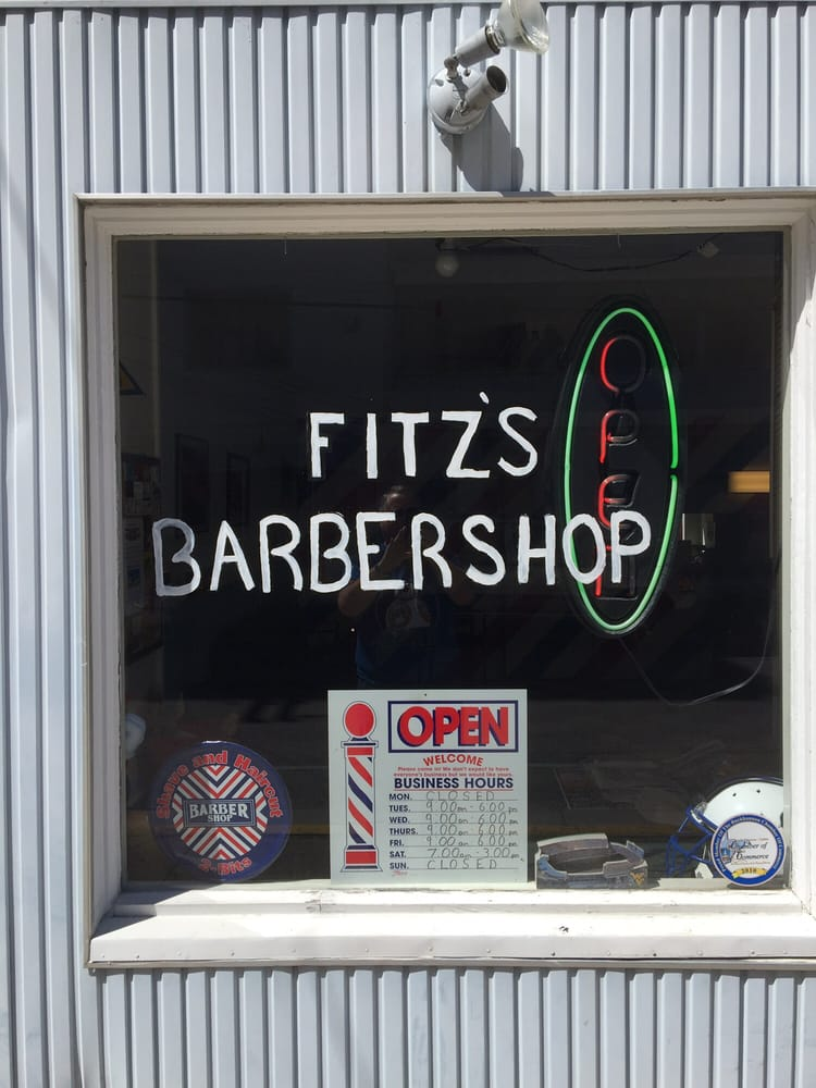 Fitz's Barbershop: 10 N Kanawha St, Buckhannon, WV