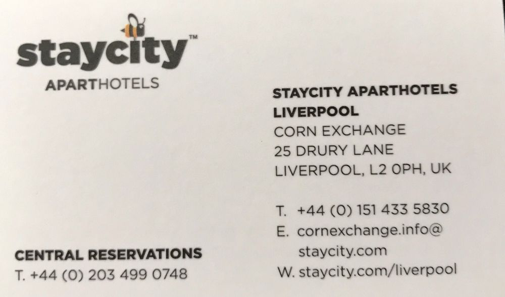 Staycity Aparthotels Corn Exchange