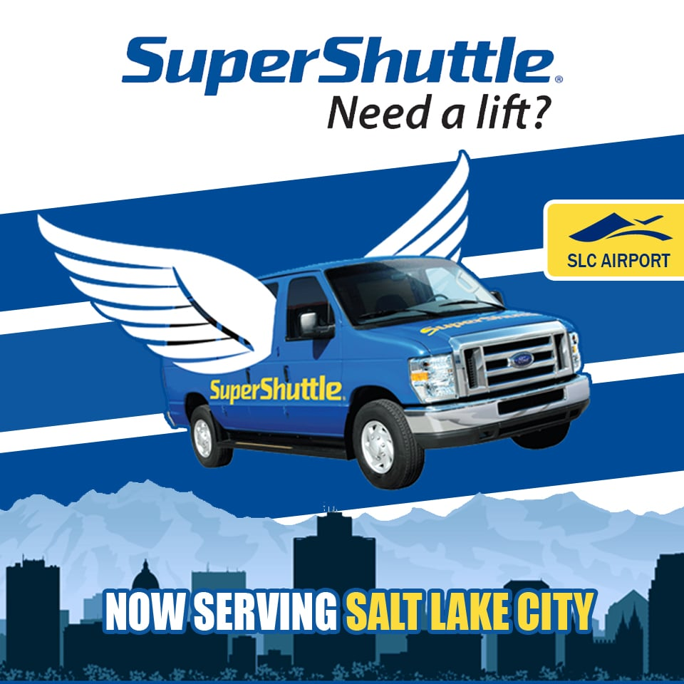 Now with Super Shuttle Salt Lake City, you don't have to. We run a reliable and fast shuttle that will collect you at your front door and take you straight to the airport. Now you can forget about driving in busy traffic and finding a space in long-stay parking lots; our Super Shuttle Salt Lake City .
