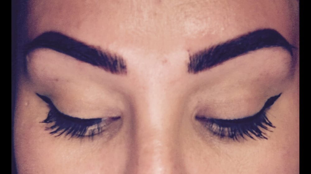 Perfect Eyebrows Combo Browpowder Brows With Microblading In The