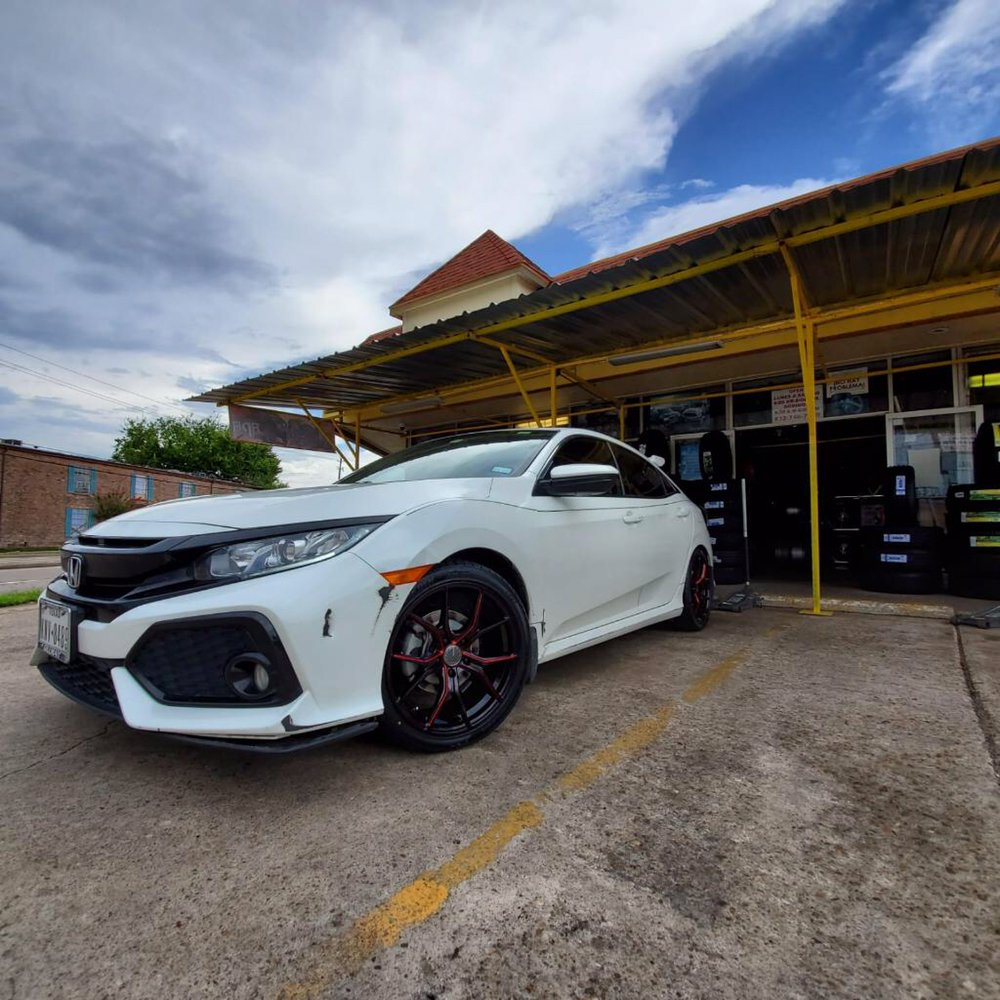 Garcia Tire shop: 7022 Chetwood Dr, Houston, TX