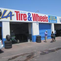 La Tires And Wheels 14 Photos Tires 1266 E Benson Hwy Tucson