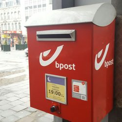 La Poste De Post Post Offices Boulevard Anspach 1 Centre