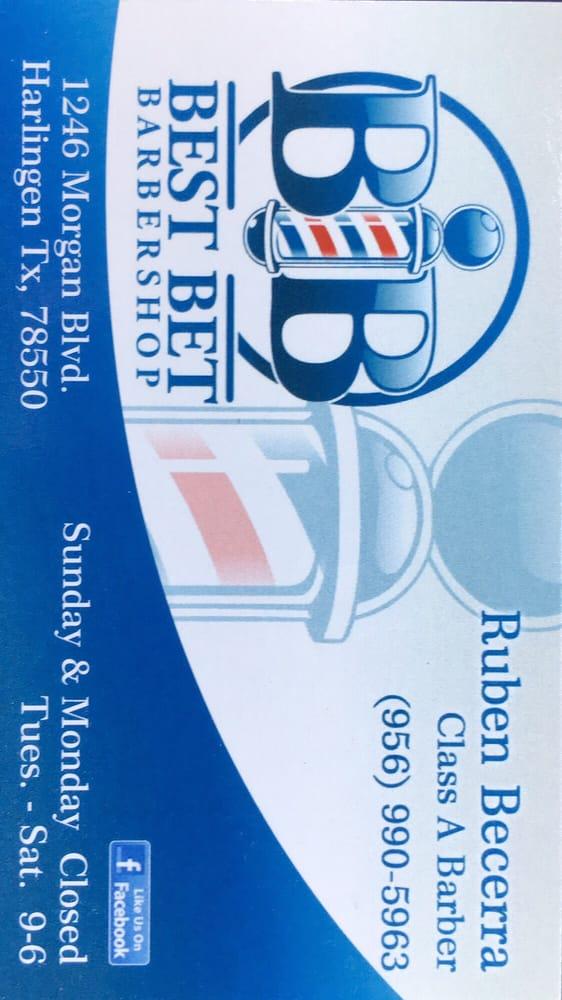 B&b Best Bet Barbershop: 1246 Morgan Blvd, Harlingen, TX