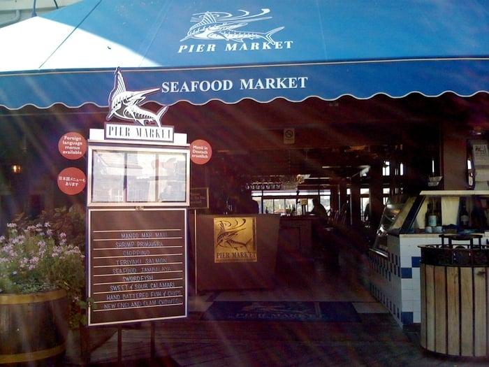 Entrance yelp for San francisco fish market