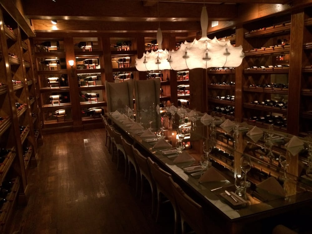 Photo of The Forge - Miami Beach FL United States. Private room in & Private room in wine cellar little chilly bring a jacket to dinner ...