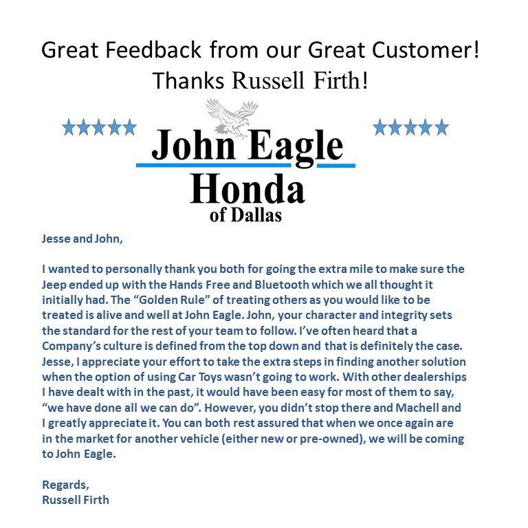 John Eagle Honda Of Dallas