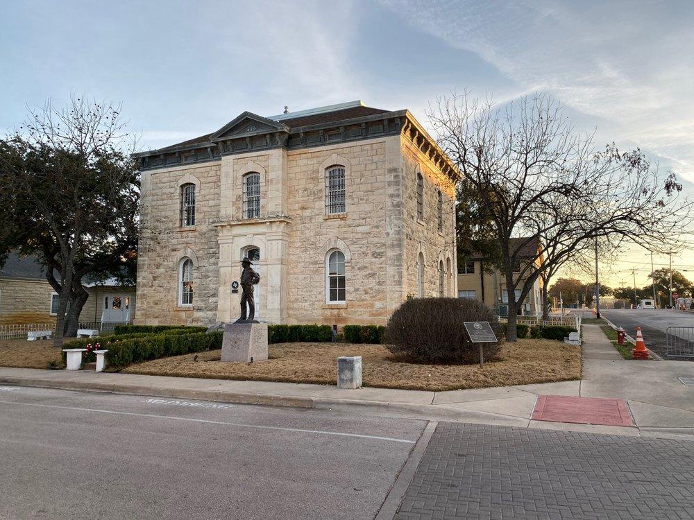 Burnet County Historical Jail: 109 S Pierce St, Burnet, TX