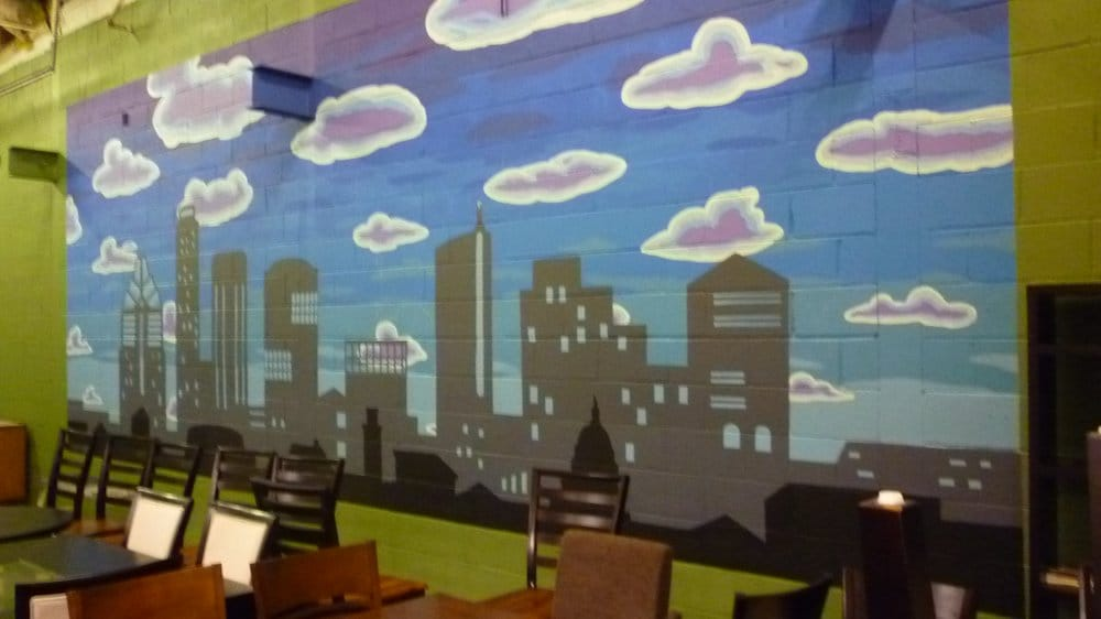New Wall Mural Designed By Gary Green Completed Last Week Yelp
