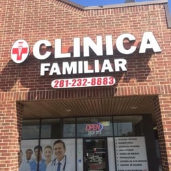big sale 0085f c678a Photo of Clinica Hispana Familiar - Rosenberg, TX, United States. Frente