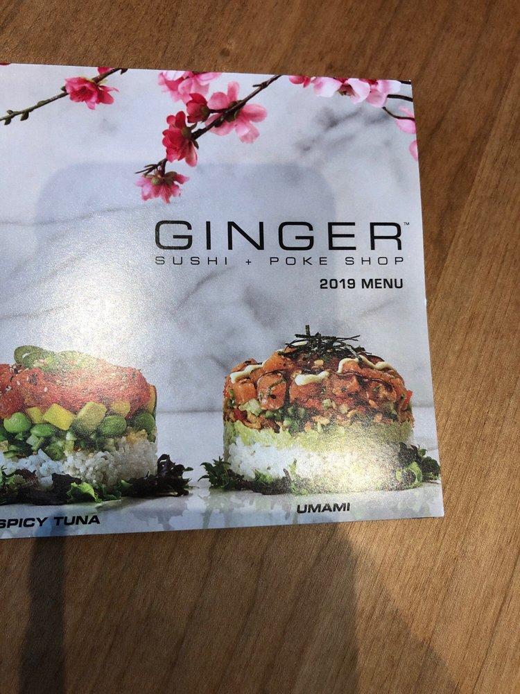 Ginger Sushi + Poke Shop: 164 Belterra Village Way, Austin, TX