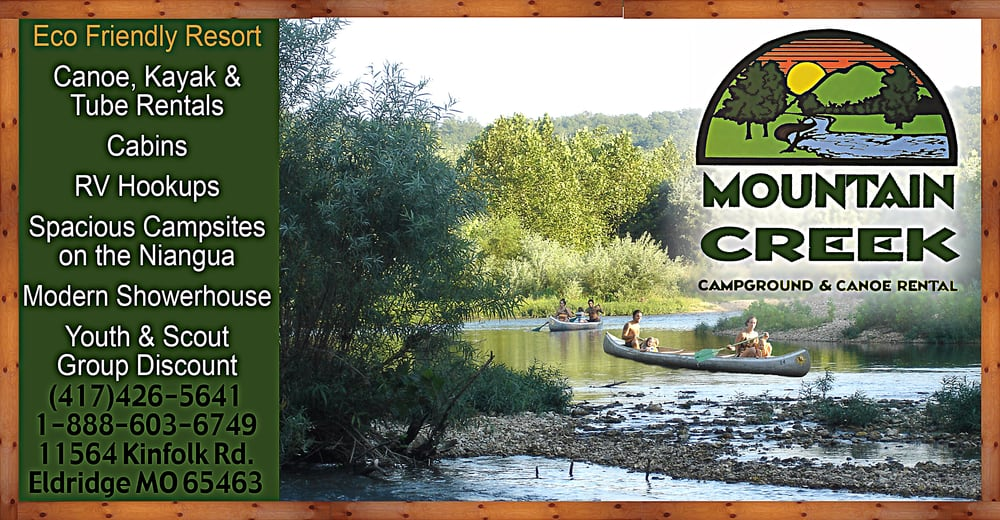 Mountain Creek Campground: 11564 Kinfolk Rd, Eldridge, MO