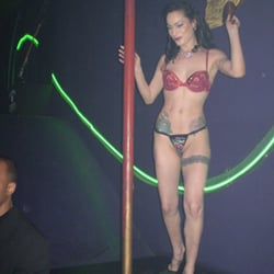 Brazillian sex club shows