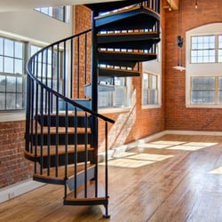 Photo Of Salter Spiral Stair   Collegeville, PA, United States. Classic  Steel Spiral