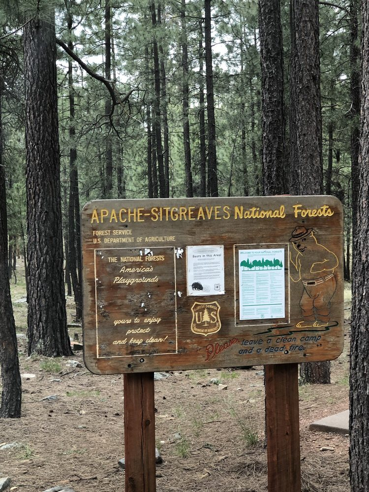 Sinkhole Campground: State Highway 260 And Forest Service Road 149, Forest Lakes Estates, AZ