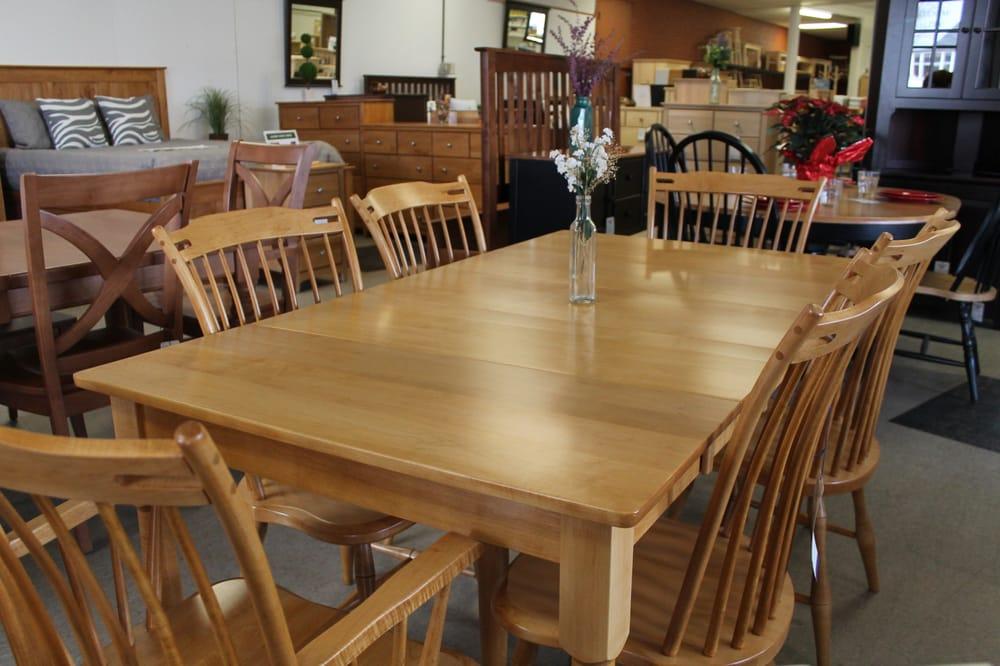 Photo Of Samu0027s Wood Furniture   Burlington, VT, United States. Amish Dining  Set