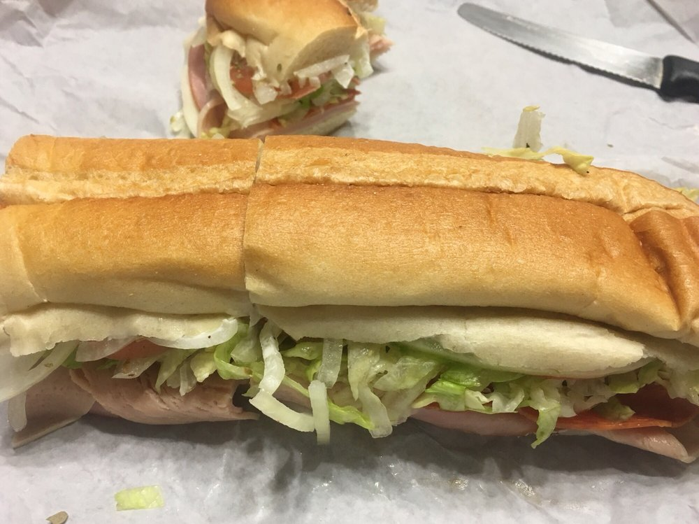 Food from D & S Sub Shop