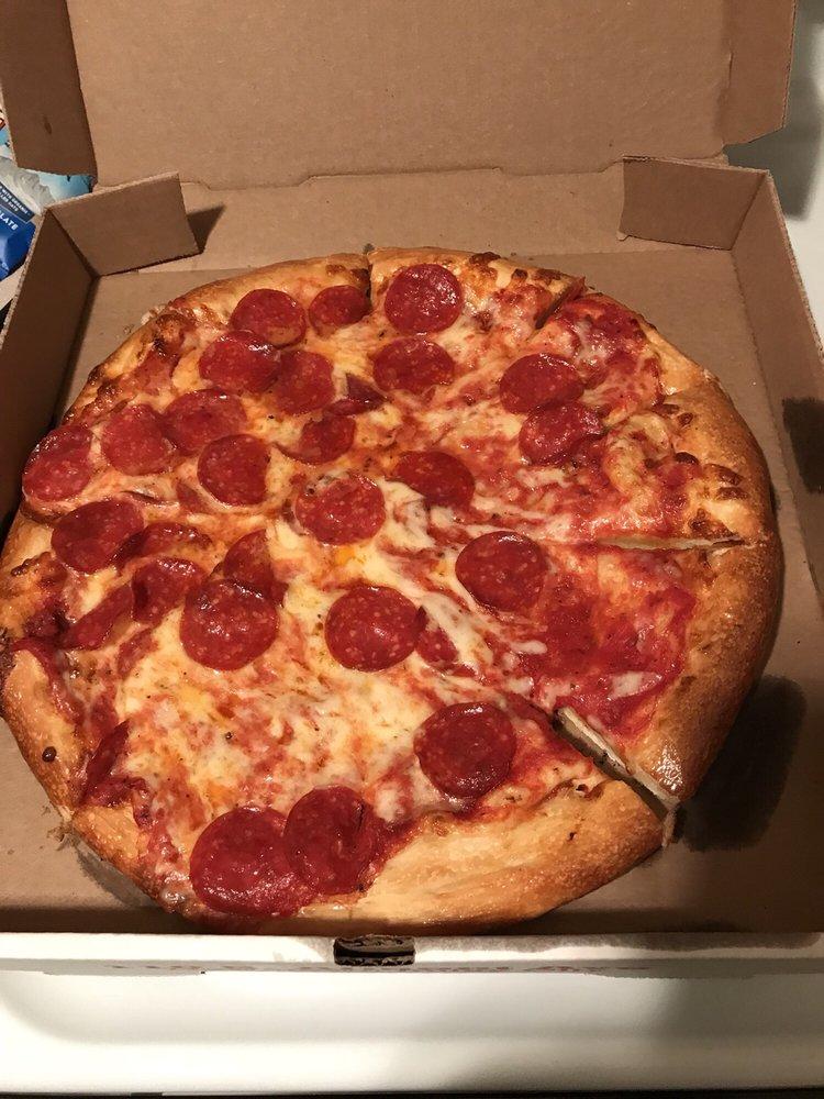 pizza machine 14 reviews pizza 110 s almont ave. Black Bedroom Furniture Sets. Home Design Ideas