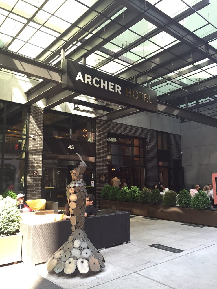 Restaurants Near The Archer Hotel New York