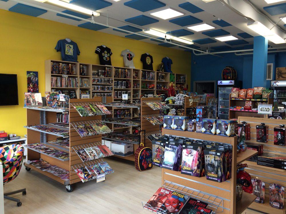 Omar's World Of Comics And Hobbies: 30 Waltham St, Lexington, MA