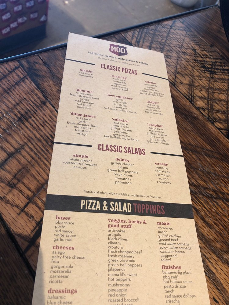 MOD Pizza - 31 Photos & 34 Reviews - Fast Food - 3622 E