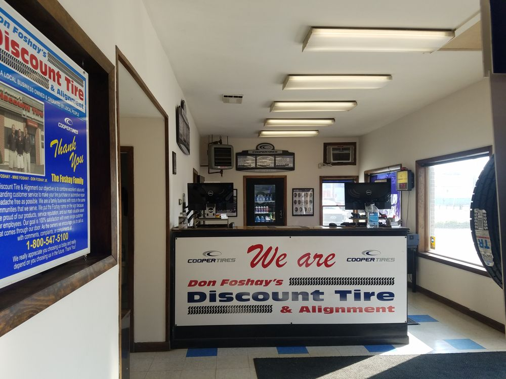 Don Foshay's Discount Tire & Alignment: 13 Water St, Hallowell, ME
