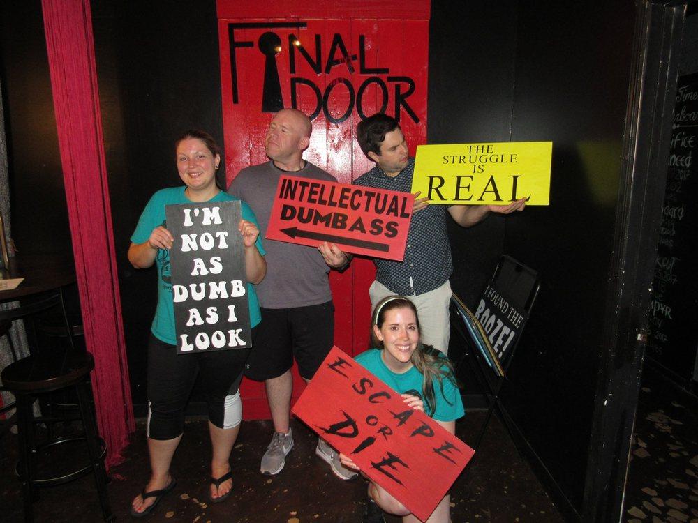 Social Spots from The Final Door Escape Room Columbia
