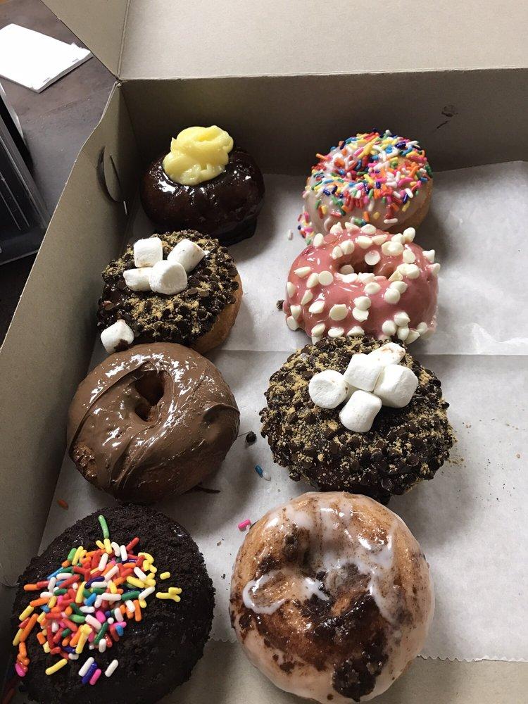 Boston cream snores Nutella Oreoleft Birthday cake strawberry