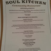 Jbj Soul Kitchen Menu