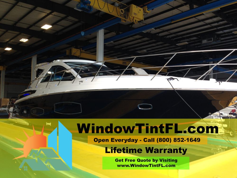 Solar tint for boats in clearwater florida yelp for Window manufacturers tampa