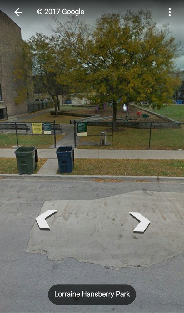 Lorraine Hansberry Park: 5635 S Indiana Ave, Chicago, IL
