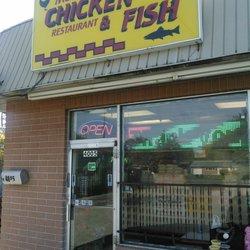 M m chicken fish seafood 4005 e livingston ave for Fish restaurants in columbus ohio