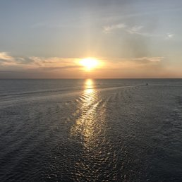 Sunrise From The Fantail As We Pulled Back Into Port Yelp