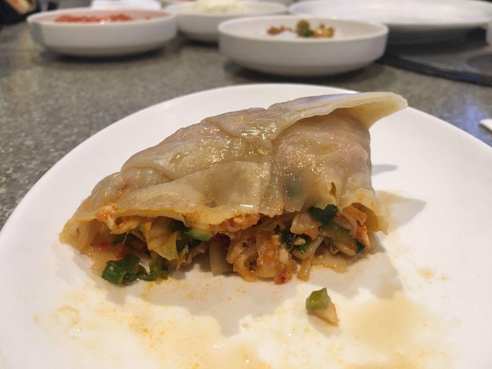 Inside the steamed kimchi dumpling yelp for Silla 14 cafe resto mendoza mendoza