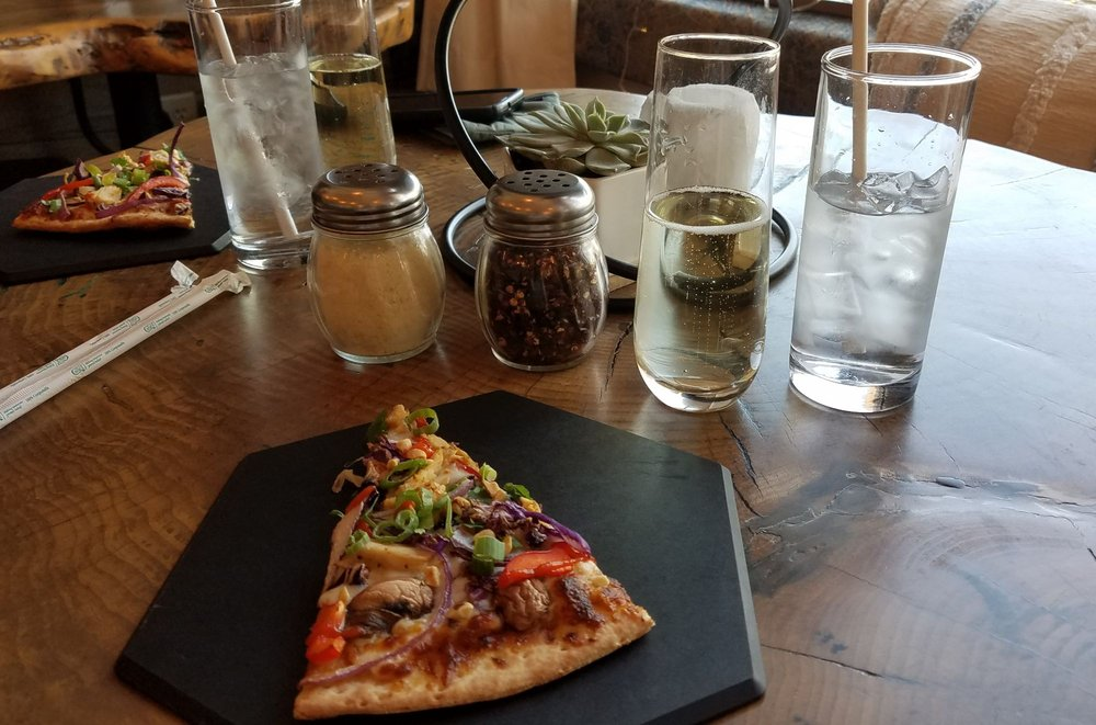Spiral's Pizza and Sushi: 5872 W Hidden Springs Dr, Garden City, ID
