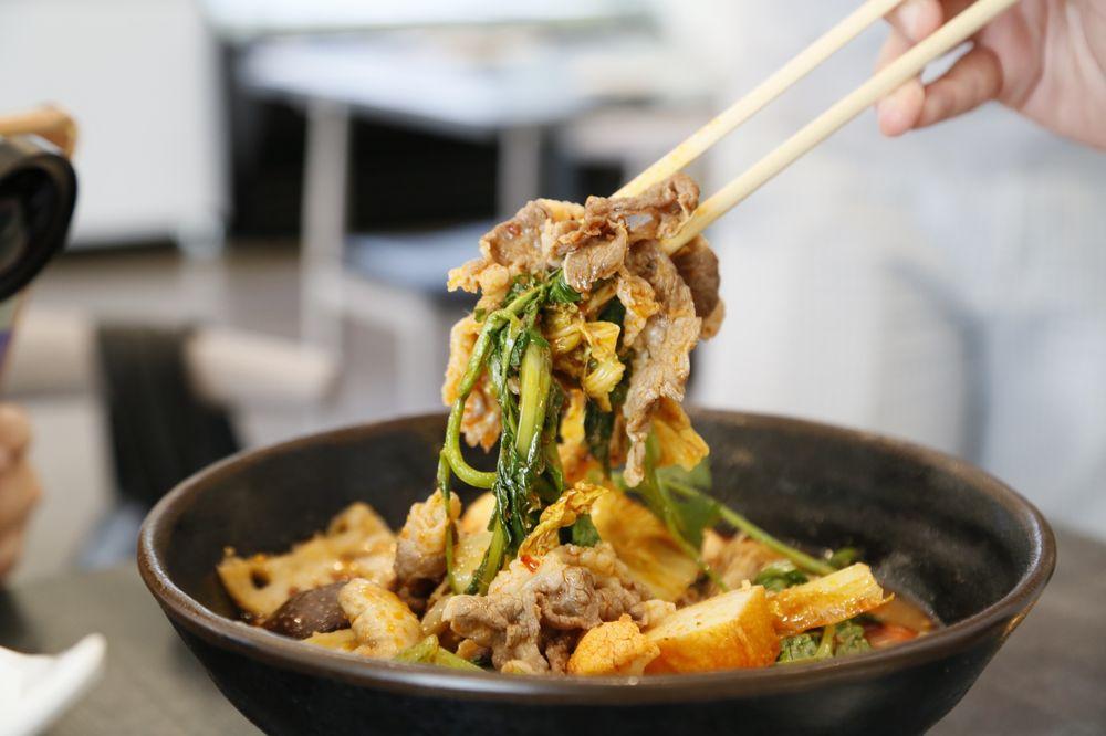 Food from Wok Bar