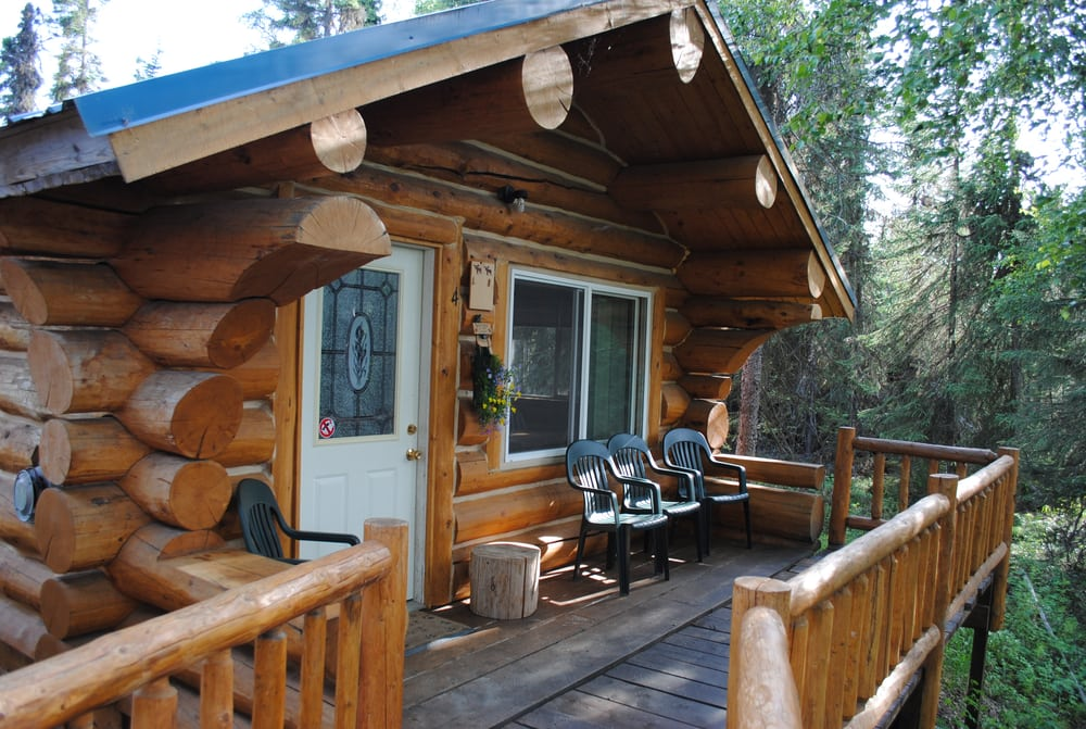Fish alaska log cabin lodge fishing 43928 oehler rd for Alaska cottage