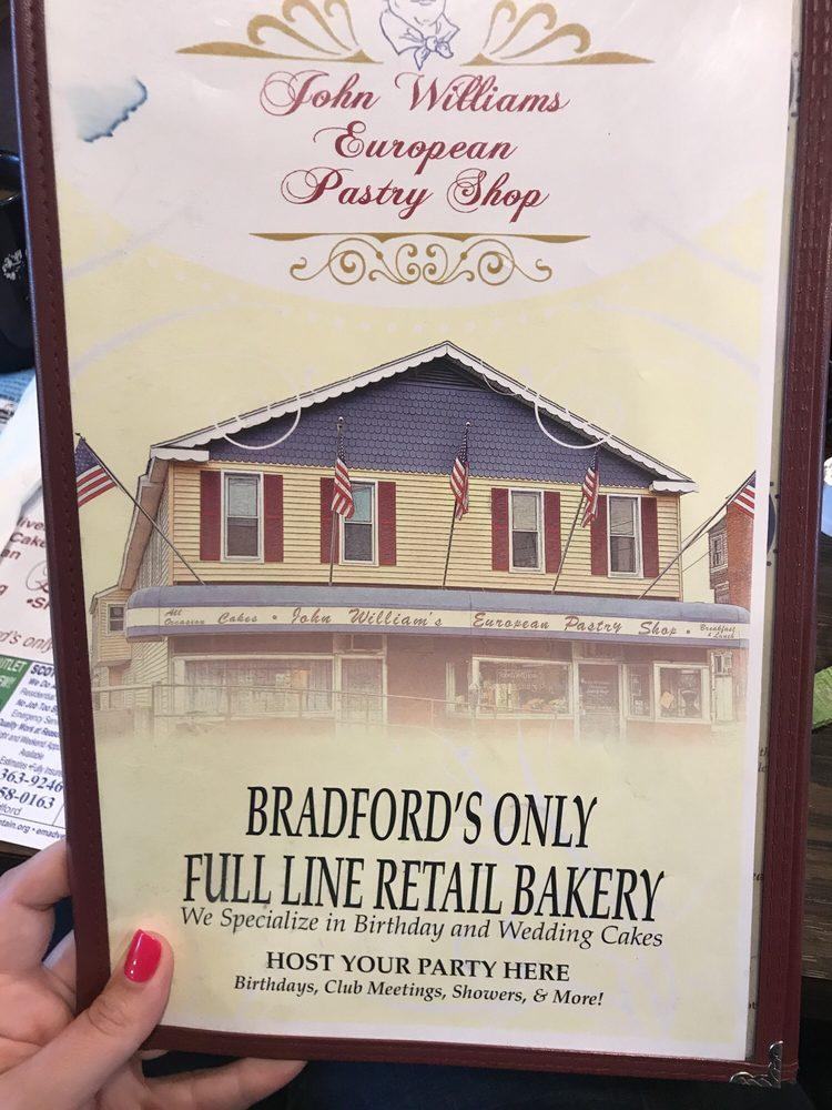 John William's European Pastry Shop: 20 Mechanic St, Bradford, PA