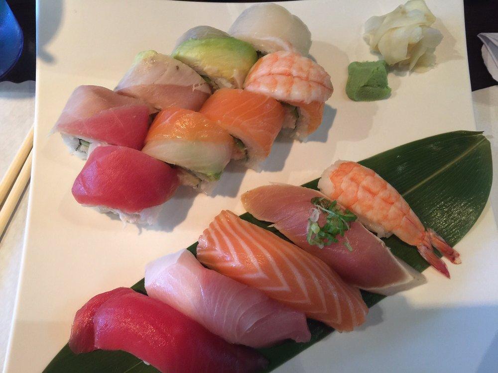 Food from Kazama Sushi
