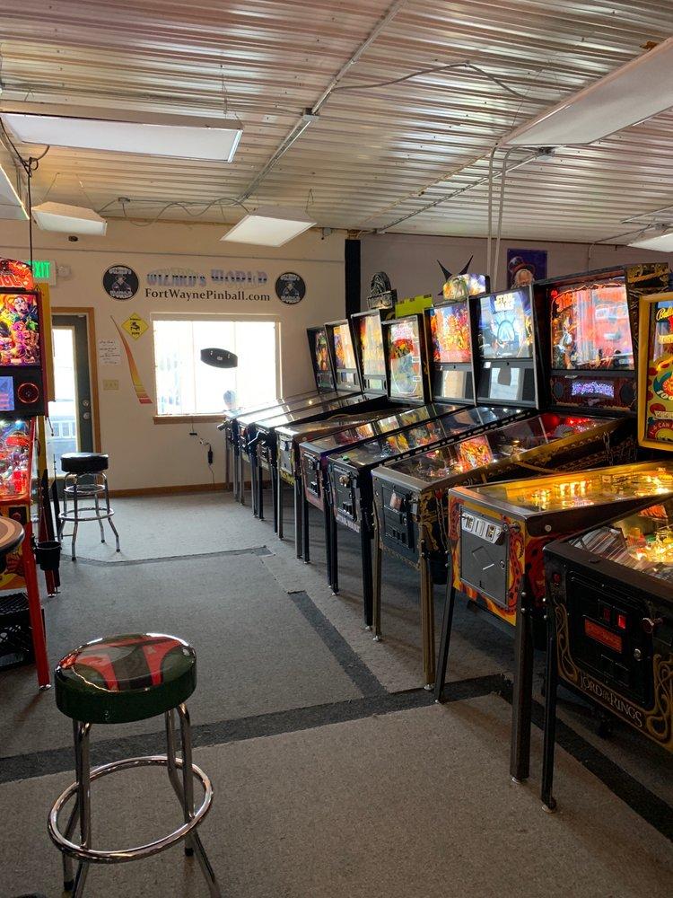 Fort Wayne Pinball Wizard's World Arcade: 14613 Lima Rd, Fort Wayne, IN