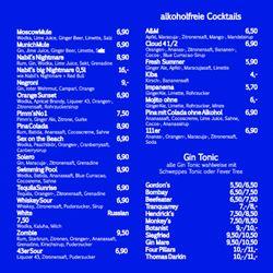 Cocktail Karte.Final Bar Cocktail Bars Thomas Mann Str 3 A Bonn Nordrhein
