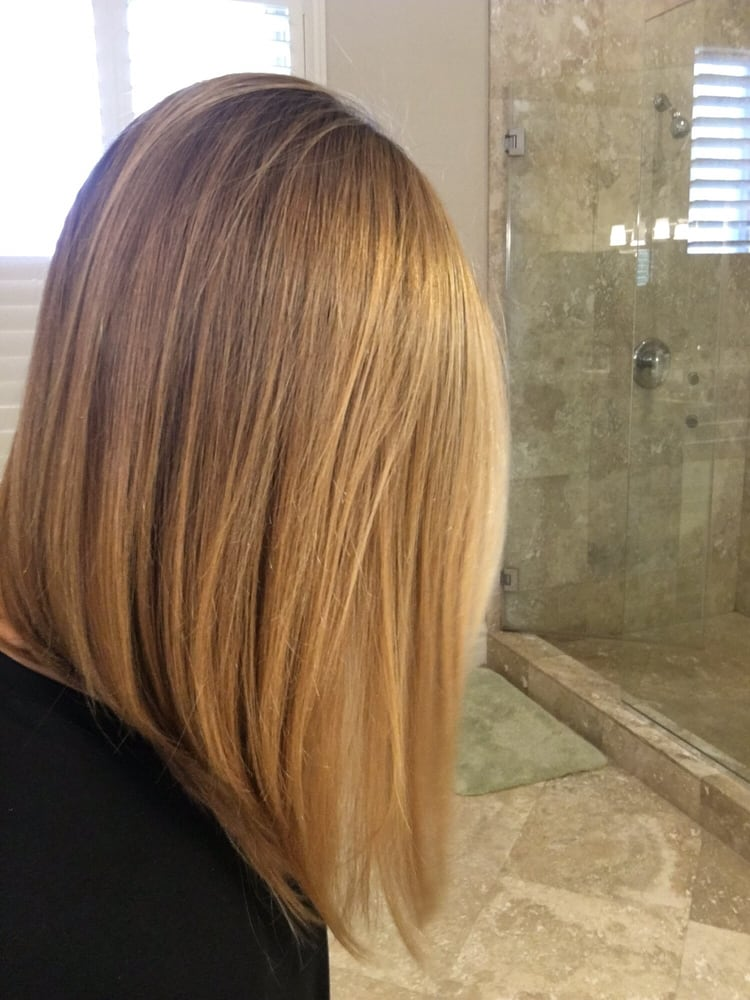 Perfect A Line Lob Long Bob By The One And Only Josephine Side